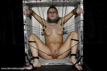 Photo number 9 from The Cock Craver / Figurehead shot for Device Bondage on Kink.com. Featuring Harmony in hardcore BDSM & Fetish porn.