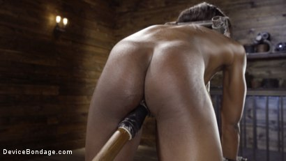 Photo number 10 from Sexy Slut Ana Foxxx Tormented in Steel Devices shot for Device Bondage on Kink.com. Featuring Ana Foxxx in hardcore BDSM & Fetish porn.