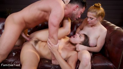Photo number 34 from Sex Crazed Step-Sister Fucks Her Way Out of Summer School shot for  on Kink.com. Featuring Seth Gamble, Gia Derza  and Penny Pax in hardcore BDSM & Fetish porn.