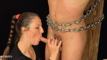 Photo number 3 from Helpless shot for cfnmeu on Kink.com. Featuring Pomstychtiva Pritelkyne and Martin Polnak in hardcore BDSM & Fetish porn.