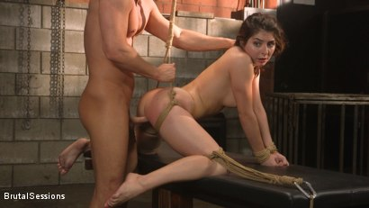 Photo number 11 from All Natural Pain Pig Keira Croft Squirts in Rope Bondage shot for Brutal Sessions on Kink.com. Featuring Seth Gamble and Keira Croft in hardcore BDSM & Fetish porn.