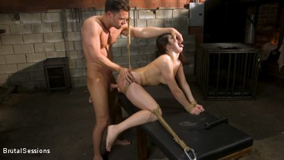 Photo number 14 from All Natural Pain Pig Keira Croft Squirts in Rope Bondage shot for Brutal Sessions on Kink.com. Featuring Seth Gamble and Keira Croft in hardcore BDSM & Fetish porn.