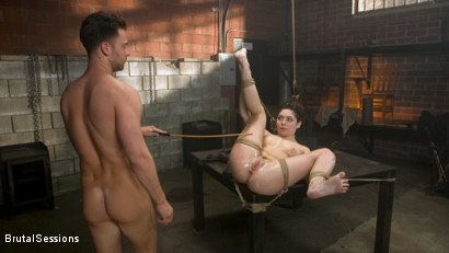 Photo number 15 from All Natural Pain Pig Keira Croft Squirts in Rope Bondage shot for Brutal Sessions on Kink.com. Featuring Seth Gamble and Keira Croft in hardcore BDSM & Fetish porn.