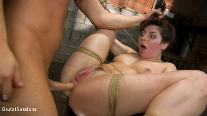 Photo number 18 from All Natural Pain Pig Keira Croft Squirts in Rope Bondage shot for Brutal Sessions on Kink.com. Featuring Seth Gamble and Keira Croft in hardcore BDSM & Fetish porn.