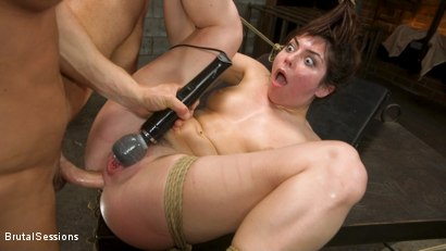Photo number 21 from All Natural Pain Pig Keira Croft Squirts in Rope Bondage shot for Brutal Sessions on Kink.com. Featuring Seth Gamble and Keira Croft in hardcore BDSM & Fetish porn.