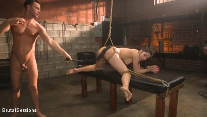 Photo number 7 from All Natural Pain Pig Keira Croft Squirts in Rope Bondage shot for Brutal Sessions on Kink.com. Featuring Seth Gamble and Keira Croft in hardcore BDSM & Fetish porn.