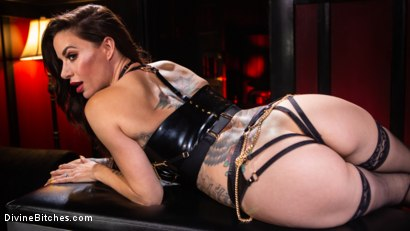 Photo number 2 from The House Slave: Gia DiMarco Brings Mason Lear Out to Play shot for Divine Bitches on Kink.com. Featuring Gia DiMarco and Mason Lear in hardcore BDSM & Fetish porn.
