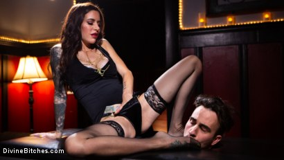 Photo number 5 from The House Slave: Gia DiMarco Brings Mason Lear Out to Play shot for Divine Bitches on Kink.com. Featuring Gia DiMarco and Mason Lear in hardcore BDSM & Fetish porn.