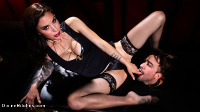 Photo number 7 from The House Slave: Gia DiMarco Brings Mason Lear Out to Play shot for Divine Bitches on Kink.com. Featuring Gia DiMarco and Mason Lear in hardcore BDSM & Fetish porn.