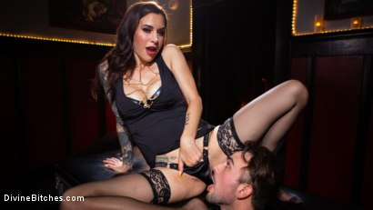 Photo number 8 from The House Slave: Gia DiMarco Brings Mason Lear Out to Play shot for Divine Bitches on Kink.com. Featuring Gia DiMarco and Mason Lear in hardcore BDSM & Fetish porn.