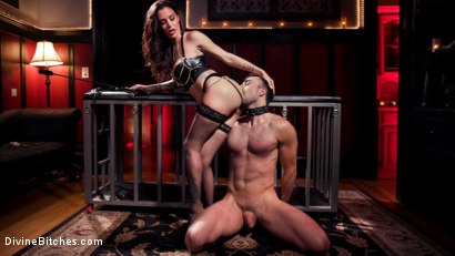 Photo number 9 from The House Slave: Gia DiMarco Brings Mason Lear Out to Play shot for Divine Bitches on Kink.com. Featuring Gia DiMarco and Mason Lear in hardcore BDSM & Fetish porn.