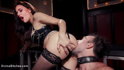 Photo number 10 from The House Slave: Gia DiMarco Brings Mason Lear Out to Play shot for Divine Bitches on Kink.com. Featuring Gia DiMarco and Mason Lear in hardcore BDSM & Fetish porn.