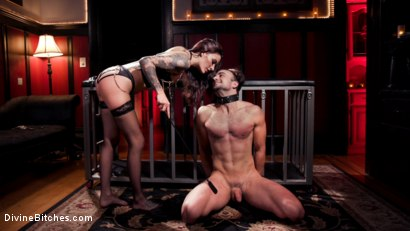 Photo number 11 from The House Slave: Gia DiMarco Brings Mason Lear Out to Play shot for Divine Bitches on Kink.com. Featuring Gia DiMarco and Mason Lear in hardcore BDSM & Fetish porn.