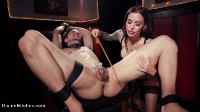 Photo number 12 from The House Slave: Gia DiMarco Brings Mason Lear Out to Play shot for Divine Bitches on Kink.com. Featuring Gia DiMarco and Mason Lear in hardcore BDSM & Fetish porn.