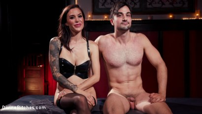 Photo number 21 from The House Slave: Gia DiMarco Brings Mason Lear Out to Play shot for Divine Bitches on Kink.com. Featuring Gia DiMarco and Mason Lear in hardcore BDSM & Fetish porn.