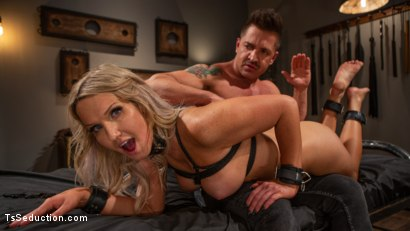 Kayleigh Constrained: Kayleigh Coxx Serves Her Master Dominic Pacifico