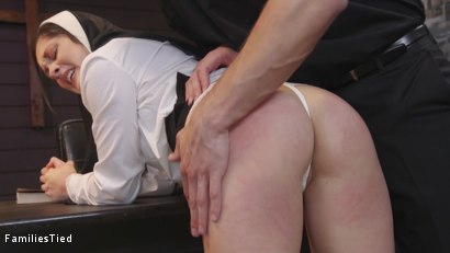 Photo number 2 from Father Issues shot for  on Kink.com. Featuring Stirling Cooper , Lily Lane and Petra Blair in hardcore BDSM & Fetish porn.