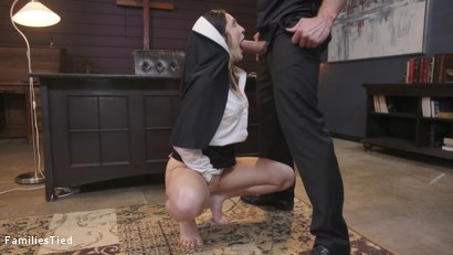 Photo number 5 from Father Issues shot for  on Kink.com. Featuring Stirling Cooper , Lily Lane and Petra Blair in hardcore BDSM & Fetish porn.