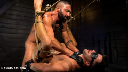 My God Sharok: Casey Everett Worships New Leather-Clad Master