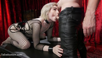 Photo number 20 from Sluts Get Fucked: New Girl Ella Hollywood Fucked by Sebastian Keys shot for TS Seduction on Kink.com. Featuring Sebastian Keys and Ella Hollywood in hardcore BDSM & Fetish porn.