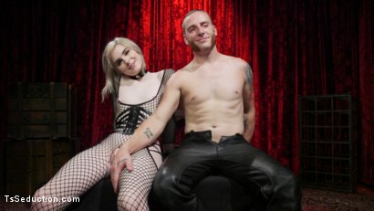 Photo number 31 from Sluts Get Fucked: New Girl Ella Hollywood Fucked by Sebastian Keys shot for TS Seduction on Kink.com. Featuring Sebastian Keys and Ella Hollywood in hardcore BDSM & Fetish porn.