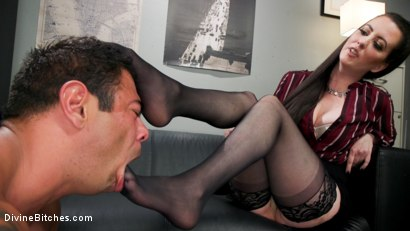 Photo number 9 from Office Boy: Cherry Torn's New Stupid Beefy Boy Toy shot for Divine Bitches on Kink.com. Featuring Draven Navarro and Cherry Torn in hardcore BDSM & Fetish porn.