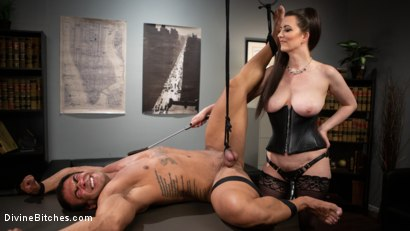 Photo number 11 from Office Boy: Cherry Torn's New Stupid Beefy Boy Toy shot for Divine Bitches on Kink.com. Featuring Draven Navarro and Cherry Torn in hardcore BDSM & Fetish porn.