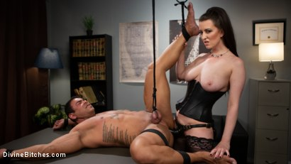 Photo number 12 from Office Boy: Cherry Torn's New Stupid Beefy Boy Toy shot for Divine Bitches on Kink.com. Featuring Draven Navarro and Cherry Torn in hardcore BDSM & Fetish porn.