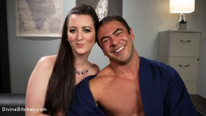 Photo number 23 from Office Boy: Cherry Torn's New Stupid Beefy Boy Toy shot for Divine Bitches on Kink.com. Featuring Draven Navarro and Cherry Torn in hardcore BDSM & Fetish porn.