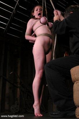 Photo number 10 from Sara Scott shot for Hogtied on Kink.com. Featuring Sara Scott in hardcore BDSM & Fetish porn.