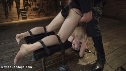 Photo number 14 from Keira Croft: Pain Slut Gets Destroyed & Squirts Everywhere shot for Device Bondage on Kink.com. Featuring Keira Croft in hardcore BDSM & Fetish porn.