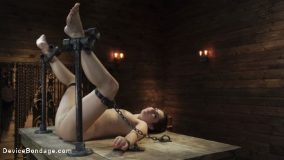 Photo number 15 from Keira Croft: Pain Slut Gets Destroyed & Squirts Everywhere shot for Device Bondage on Kink.com. Featuring Keira Croft in hardcore BDSM & Fetish porn.