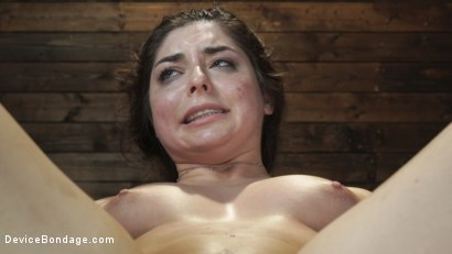 Photo number 22 from Keira Croft: Pain Slut Gets Destroyed & Squirts Everywhere shot for Device Bondage on Kink.com. Featuring Keira Croft in hardcore BDSM & Fetish porn.