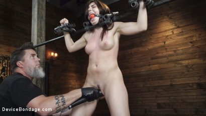 Photo number 4 from Keira Croft: Pain Slut Gets Destroyed & Squirts Everywhere shot for Device Bondage on Kink.com. Featuring Keira Croft in hardcore BDSM & Fetish porn.
