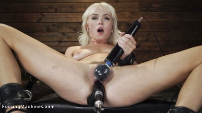 Photo number 14 from Sexy Cam Girl Lilly Bell is Bound and Machine Fucked shot for Fucking Machines on Kink.com. Featuring Lilly Bell in hardcore BDSM & Fetish porn.