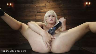 Photo number 4 from Sexy Cam Girl Lilly Bell is Bound and Machine Fucked shot for Fucking Machines on Kink.com. Featuring Lilly Bell in hardcore BDSM & Fetish porn.
