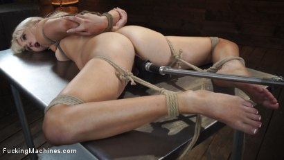 Photo number 29 from Sexy Cam Girl Lilly Bell is Bound and Machine Fucked shot for Fucking Machines on Kink.com. Featuring Lilly Bell in hardcore BDSM & Fetish porn.