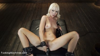 Photo number 9 from Sexy Cam Girl Lilly Bell is Bound and Machine Fucked shot for Fucking Machines on Kink.com. Featuring Lilly Bell in hardcore BDSM & Fetish porn.