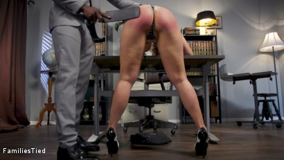 Photo number 7 from Bring Your Squirting Step-Daughter to Work Day shot for  on Kink.com. Featuring Angel Allwood, Rob Piper and Zoe Sparx in hardcore BDSM & Fetish porn.