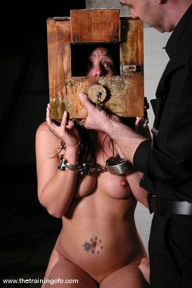 Photo number 8 from The Training of Julie Night, Day One shot for The Training Of O on Kink.com. Featuring Julie Night in hardcore BDSM & Fetish porn.
