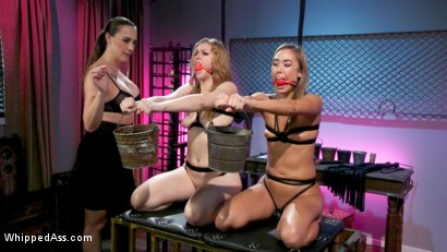 Photo number 5 from Secret Submissive: Chanel Preston, Ella Nova and Christy Love shot for Whipped Ass on Kink.com. Featuring Chanel Preston, Ella Nova  and Christy Love in hardcore BDSM & Fetish porn.