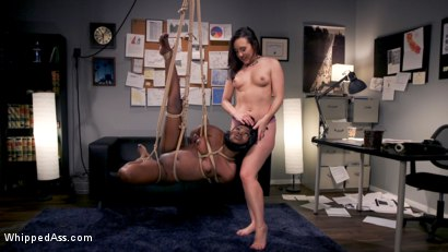 Photo number 12 from Hot Mean Lesbian Boss: Sinn Sage Takes Advantage of Noemie Bilas shot for Whipped Ass on Kink.com. Featuring Sinn Sage and Noemie Bilas in hardcore BDSM & Fetish porn.