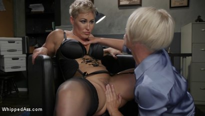 Photo number 9 from Attorney Client Privilege: Helena Locke Blackmails Client Ryan Keely shot for Whipped Ass on Kink.com. Featuring Helena Locke and Ryan Keely in hardcore BDSM & Fetish porn.
