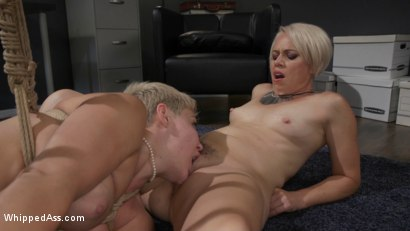 Photo number 24 from Attorney Client Privilege: Helena Locke Blackmails Client Ryan Keely shot for Whipped Ass on Kink.com. Featuring Helena Locke and Ryan Keely in hardcore BDSM & Fetish porn.