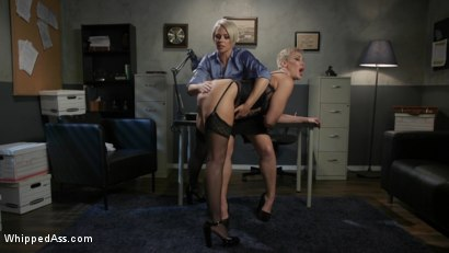 Photo number 2 from Attorney Client Privilege: Helena Locke Blackmails Client Ryan Keely shot for Whipped Ass on Kink.com. Featuring Helena Locke and Ryan Keely in hardcore BDSM & Fetish porn.