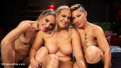 Photo number 29 from Holiday Gift: Angel Allwood is Mona Wales & Fox Acecaria's Slutty Toy shot for Whipped Ass on Kink.com. Featuring Mona Wales, Angel Allwood and Fox Acecaria in hardcore BDSM & Fetish porn.