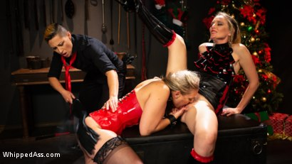 Photo number 3 from Holiday Gift: Angel Allwood is Mona Wales & Fox Acecaria's Slutty Toy shot for Whipped Ass on Kink.com. Featuring Mona Wales, Angel Allwood and Fox Acecaria in hardcore BDSM & Fetish porn.