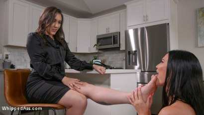 Photo number 14 from Jasmine From The Agency: Jasmine Jae Gives It Up to Sinn Sage shot for Whipped Ass on Kink.com. Featuring Jasmine Jae and Sinn Sage in hardcore BDSM & Fetish porn.