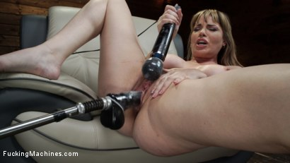 Photo number 13 from Kink Legend Dana DeArmond is Back to Fuck Our Machines shot for Fucking Machines on Kink.com. Featuring Dana DeArmond in hardcore BDSM & Fetish porn.