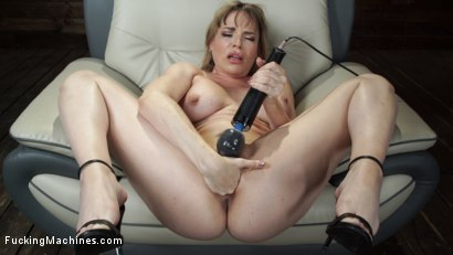 Photo number 6 from Kink Legend Dana DeArmond is Back to Fuck Our Machines shot for Fucking Machines on Kink.com. Featuring Dana DeArmond in hardcore BDSM & Fetish porn.